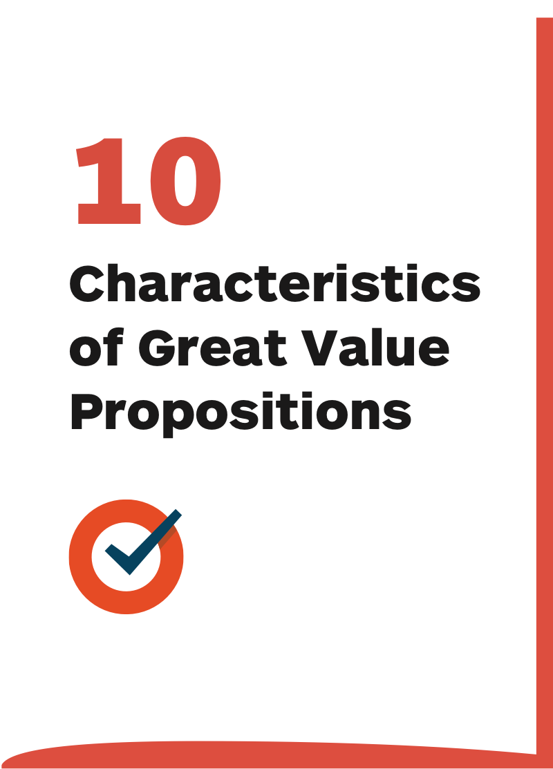 10 Characteristics of Great Value Propositions