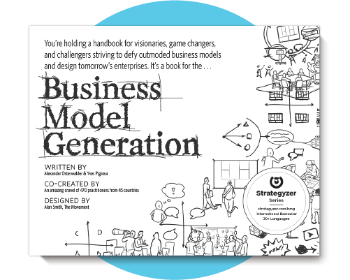 Proven methodology introduced in our global best-selling book Business Model Generation.