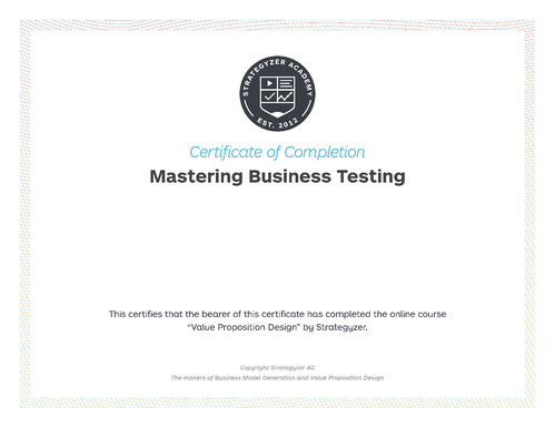 MBT Certificate
