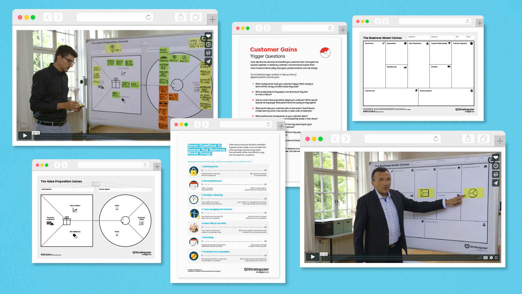 Free Online Course Materials For The Business Model Canvas And Value Proposition Canvas
