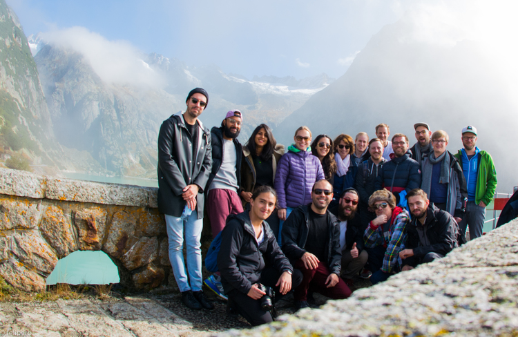 The Strategyzer team at an annual offsite. Switzerland, 2015.