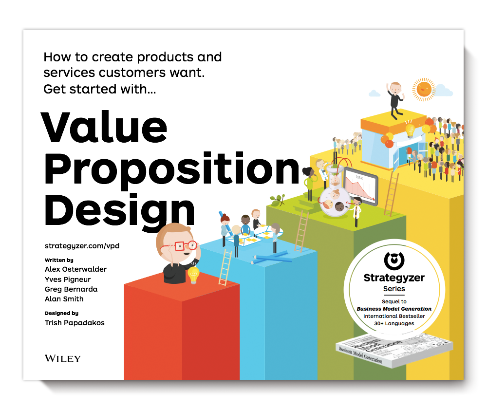 The 2nd book in the Strategyzer Series:   Value Proposition Design  ( #VPDesign )